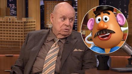Murió Don Rickles, voz de Mr. Potato en Toy Story
