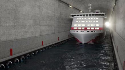 Noruega construirá un enorme túnel para barcos