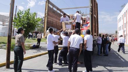 Arequipa: ayuda humanitaria será enviada vía marítima al norte del país