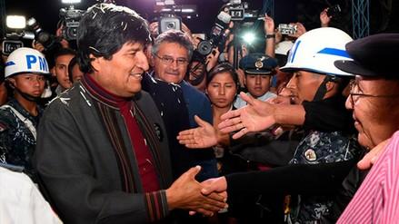 Evo Morales volvió a Bolivia tras su operación en Cuba