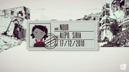 La complicada situación en Siria vista a través los ojos de una niña