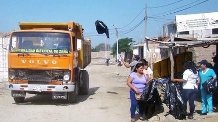 Realizan campaña de recojo de inservibles para eliminar criaderos de zancudos