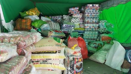 Congresistas por Arequipa recolectaron 50 toneladas de ayuda