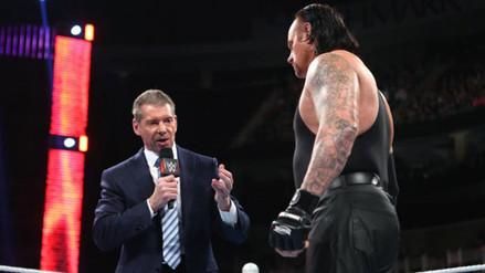 Vince McMahon confirmó el retiro del Undertaker de la WWE