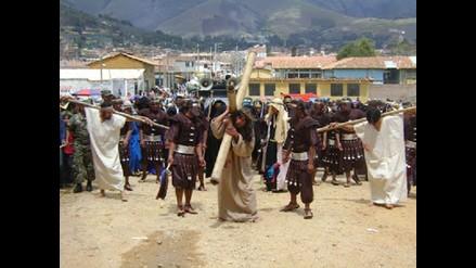 Sánchez Carrión: con misa inicia Semana Santa en Huamachuco