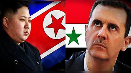 Kim Jong-un envió carta de solidaridad a Bashar al-Assad tras ataque de Trump