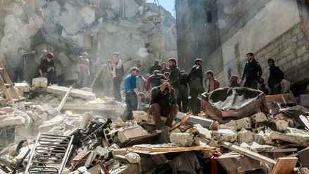 Siria asegura que nueve civiles murieron en el bombardeo ordenado por Trump