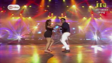 Christian Domínguez y Chabelita bailaron a ritmo de bachata