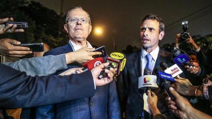 PPK respaldó al opositor venezolano Henrique Capriles en Twitter