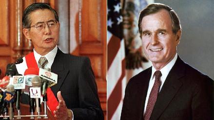 La conversación entre Fujimori y George H. W. Bush tras el 5 de abril