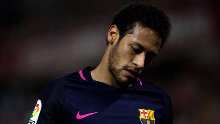 Neymar podría no jugar ante Real Madrid por gesto contra el árbitro