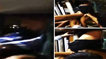 Ladrón robó un celular en el Metropolitano e intentó escapar por la ventana