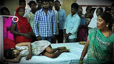 La triste teoría de la Policía india sobre la niña encontrada rodeada de monos