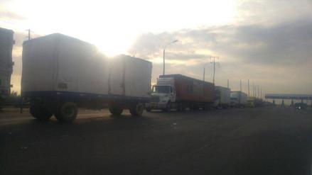Trujillo: restringen tránsito en la vía alterna hacia Virú
