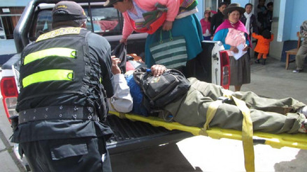Accidente de tránsito dejó tres heridos en la Carretera Central