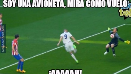 Los memes que generó el empate del Real Madrid frente al Atlético