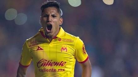 Raúl Ruidíaz anotó un golazo para el Monarcas Morelia ante Cruz Azul