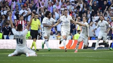 El golazo de cabeza de Pepe ante el Atlético de Madrid por La Liga