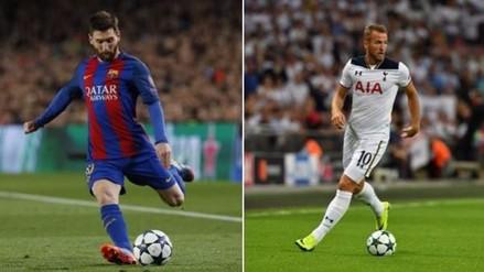 Mauricio Pochettino comparó a Harry Kane con Lionel Messi