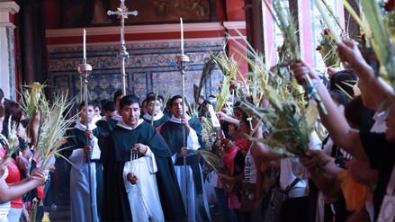 Semana Santa: Así se vivieron las celebraciones por Domingo de Ramos