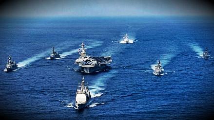 Estados Unidos desplegó un grupo de ataque en la península coreana