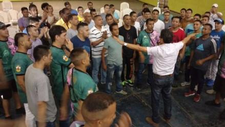 Reos del penal del Callao reciben clases de música como parte de su rehabilitación