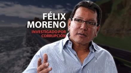 Poder Judicial dictó 18 meses de prisión preventiva para Félix Moreno