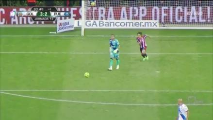 La viveza de Carlos Fierro para voltear el partido a segundos del final