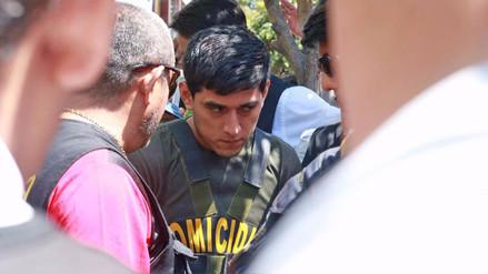Así se realiza la reconstrucción del asesinato de José Yactayo