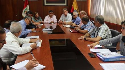 Ministros se reunieron con autoridades lambayecanas por Decreto de Urgencia