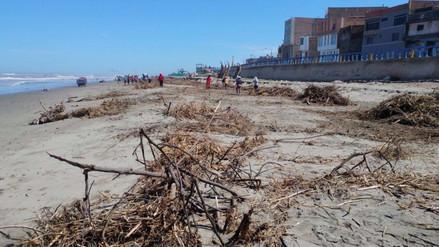 Playas lambayecanas limpias para recibir visitantes en Semana Santa