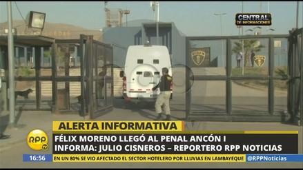 Félix Moreno fue recluido en el penal Ancón I