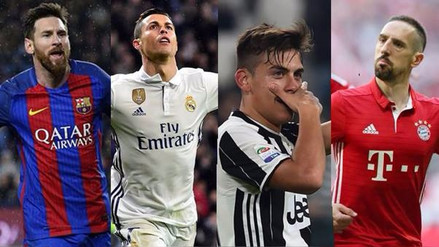 Inicia la ida de los cuartos de final de la Champions League