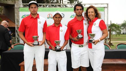 Perú se coronó campeón del Sudamericano Juvenil de Golf