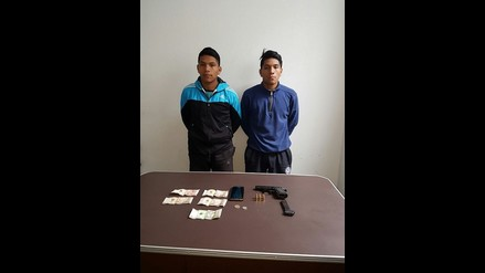 Capturan a gemelos acusados de robos y asaltos en Pataz