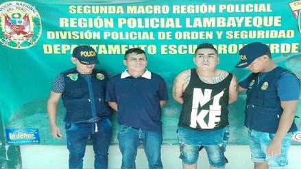 Grupo Terna interviene a presuntos ladrones de celulares en Chiclayo