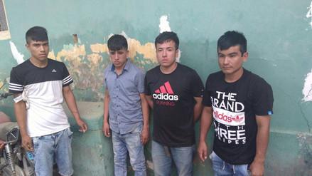 Chiclayo: detienen a banda de asaltantes de vehículos