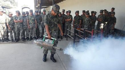 Trujillo: capacitan a soldados para fumigar contra el dengue