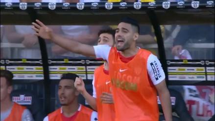 Radamel Falcao se convirtió en director técnico del Mónaco por unos minutos