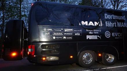 La policía de Dortmund asume que el ataque fue dirigido contra el bus del equipo