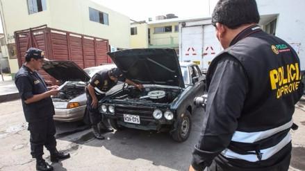 Cuatro robacarros cayeron con droga en el distrito de Carabayllo