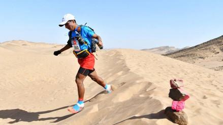 Peruano Remigio Huamán compite en ultramaratón Des Sables de Marruecos