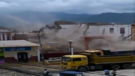 Derrumbaron por completo Iglesia Santo Domingo de Olmos