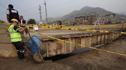 SJL inicia los estudios técnicos para instalar el nuevo puente Huaycoloro