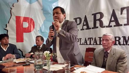 Gustavo Pacheco presentó nuevo frente político para elecciones del 2018