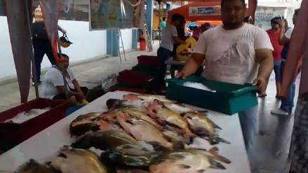 Iquitos: se llevó a cabo Festival del Pescado por Semana Santa