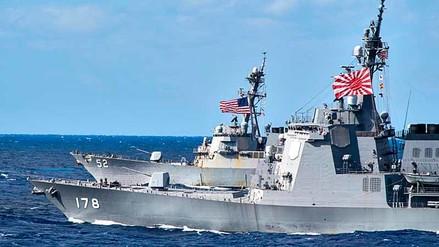 Japón se une a Estados Unidos en despliegue militar a la Península Coreana