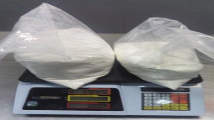 Burrier cayó en el Jorge Chávez con casi 4 kilos de cocaína en la maleta