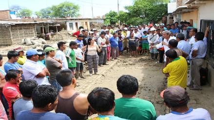 Apoyarán en la limpieza del sector Molino Azul en Catacaos