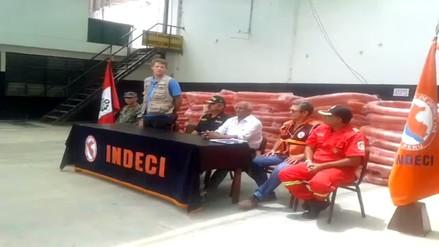 Piura: EEUU y Costa Rica entregaron motobombas, botes y víveres